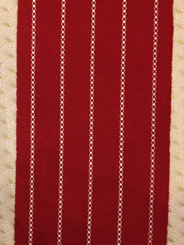 Kaitaliina puna/valkoinen