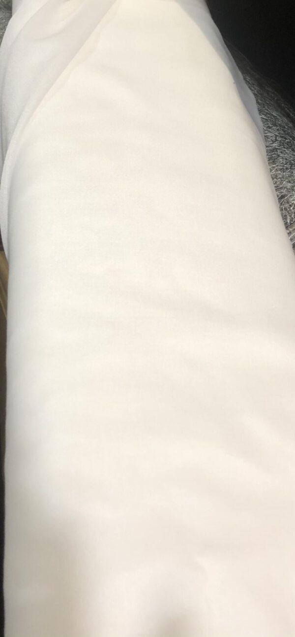 Ispra Valkoinen Paloturvallinen verhokangas